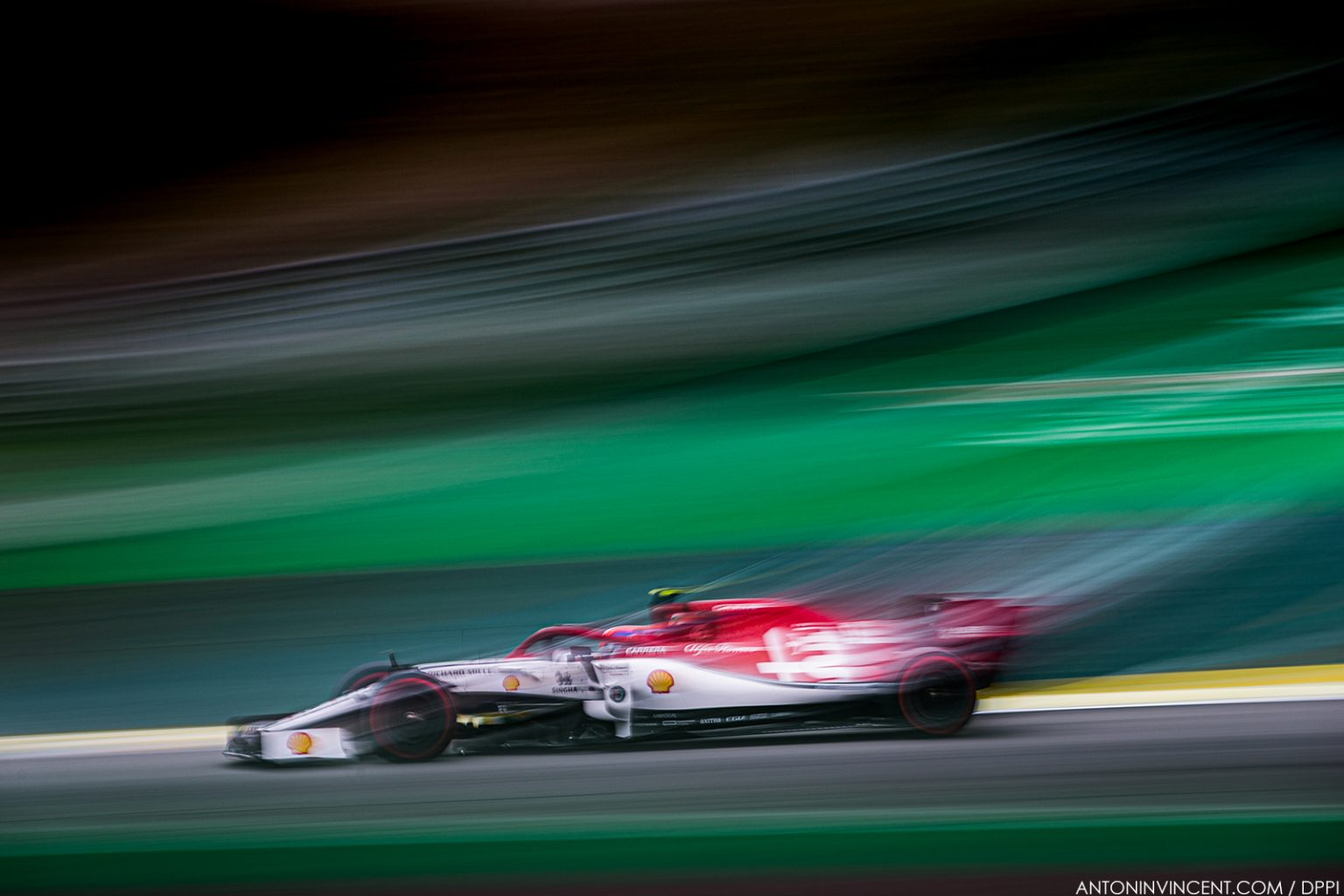 99 GIOVINAZZI Antonio (ita), Alfa Romeo Racing C38, action during the 2019 Formula One World Championship, Brazil Grand Prix from November 15 to 17 in Sao Paulo, Brazil - Photo Antonin Vincent / DPPI