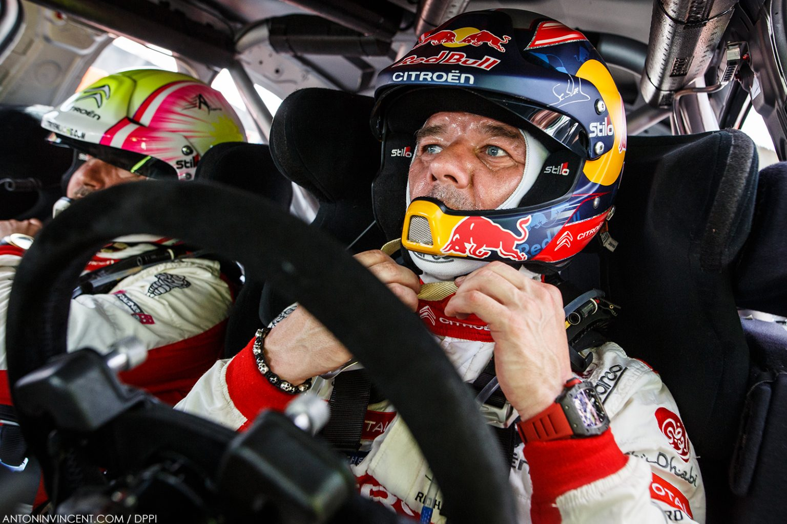 LOEB Sebastien (FRA), CITROEN C3 WRC, CITROEN TOTAL ABU DHABI WRT  portrait during the 2018 WRC World Rally Car Championship, Tour de Corse rally from April 5 to 8 at Ajaccio, France - Photo Antonin Vincent / DPPI