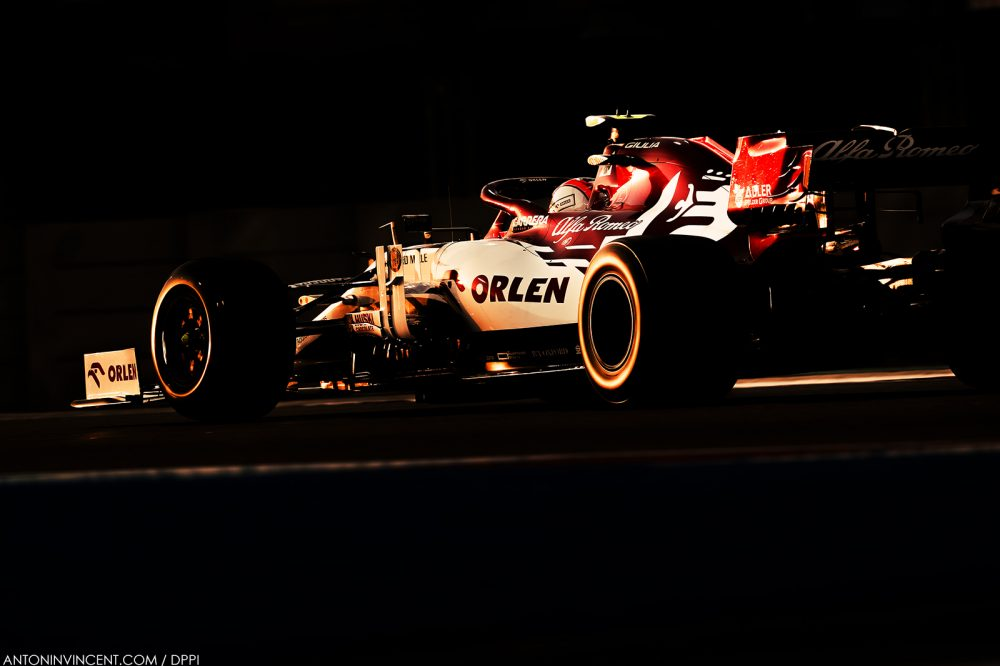99 GIOVINAZZI Antonio (ita), Alfa Romeo Racing ORLEN C39, action during the Formula 1 Etihad Airways Abu Dhabi Grand Prix 2020, from December 11 to 13, 2020 on the Yas Marina Circuit, in Abu Dhabi - Photo Antonin Vincent / DPPI