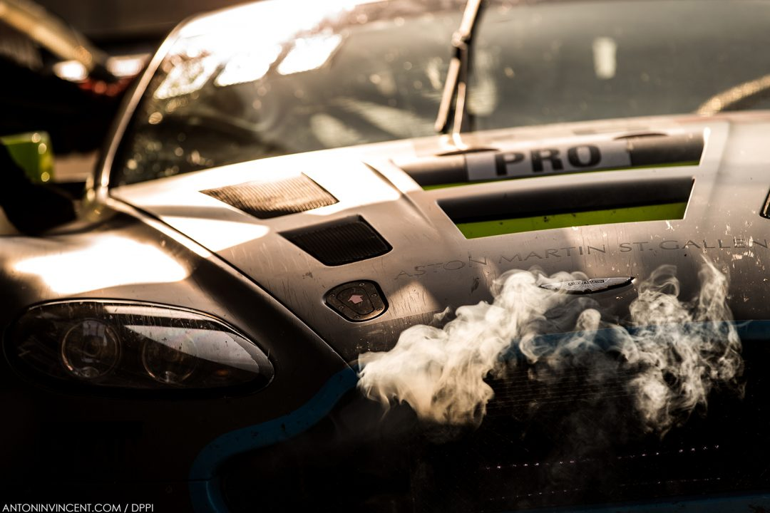 76 Matthieu Vaxiviere, Jake Dennis, Nicki Thiim R-Motorsport Aston Martin V12 Vantage, action during the Blancpain GT series, at Silverstone, 2018, Great Britain, from may 18 to 20 - Photo Antonin Vincent / DPPI