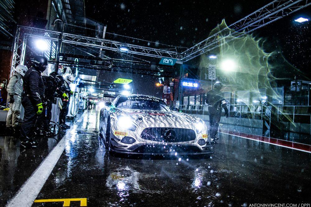 74 VOS Remon, BURKE Darren, Tom ONSLOW-COLE, FRANKENHOUT Christiaan, Mercedes-AMG GT3, Ram Racing, action during the 2019 Blancpain Endurance Series championship 24 Hours of Spa, from July 24 to 28,  Spa Francorchamps, Belgium - Photo Antonin Vincent / DPPI