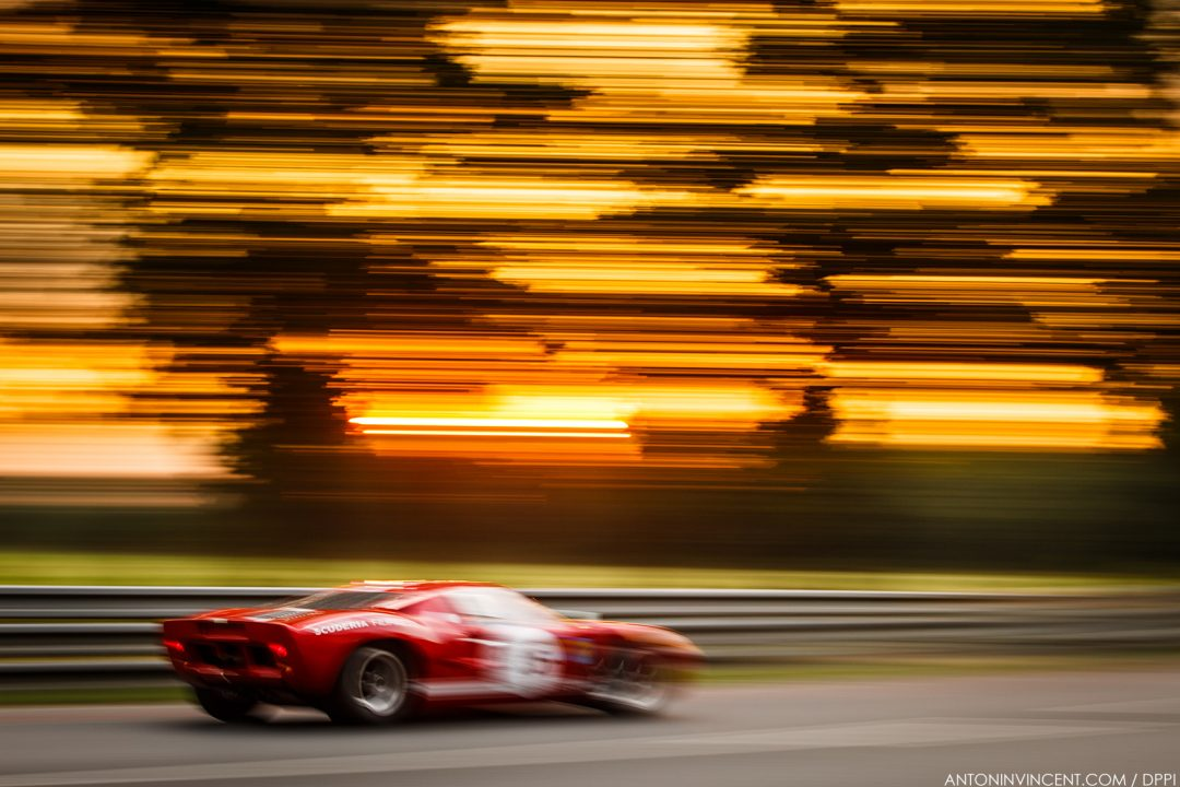35 DONCIEUX (fra), FORD GT40 MKII 1966, action   during the 2018 Le Mans Classic, France from July 6 to 8, at Le Mans - Photo Antonin Vincent / DPPI