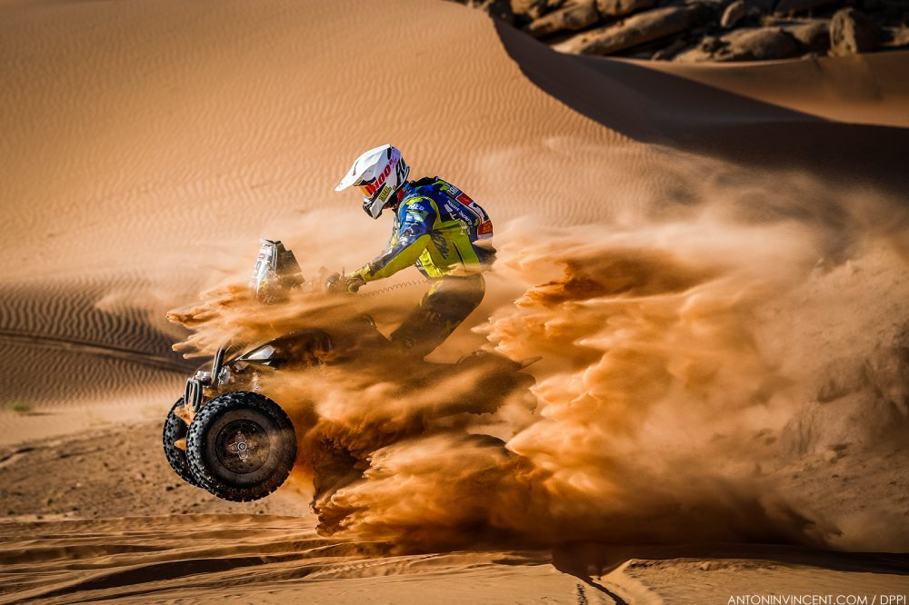 169 Carrizo Tobias Juan (arg), Yamaha M.E.D. Racing Team, Quad, action during the 2nd stage of the Dakar 2021 between Bisha and Wadi Al Dawasir, in Saudi Arabia on January 4, 2021 - Photo Antonin Vincent / DPPI
