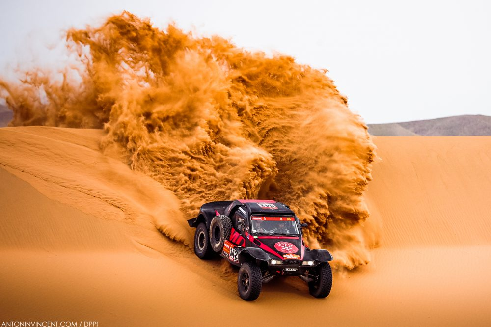 342 Petrus Gintas (ltu), Marques Jose (prt), Optimus, Petrus Kombucha Team, Auto, action during the 11th stage of the Dakar 2021 between Al-Ula and Yanbu, in Saudi Arabia on January 14, 2021 - Photo Antonin Vincent / DPPI