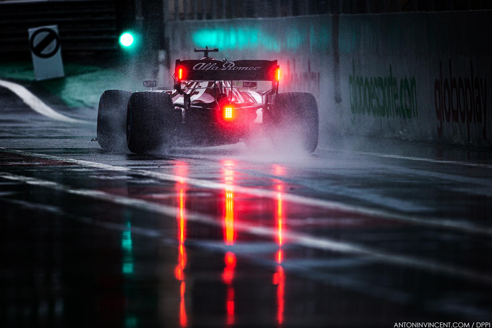 07 RAIKKONEN Kimi (fin), Alfa Romeo Racing C38, action during the 2019 Formula One World Championship, Brazil Grand Prix from November 15 to 17 in Sao Paulo, Brazil - Photo Antonin Vincent / DPPI